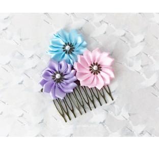 Peigne fleurs japonaises...
