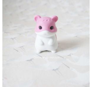 Gomme hamster rose