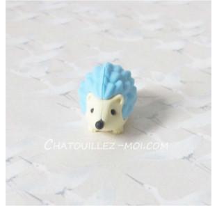 Gomme hérisson bleu