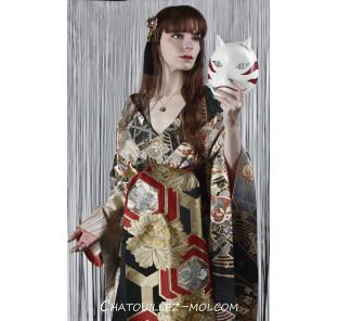 Kimono furisode manches...