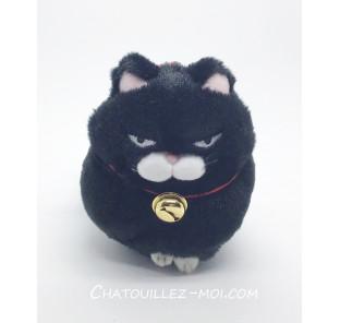 Peluche chat japonais noir