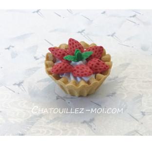 Gomme tartelette aux fraises
