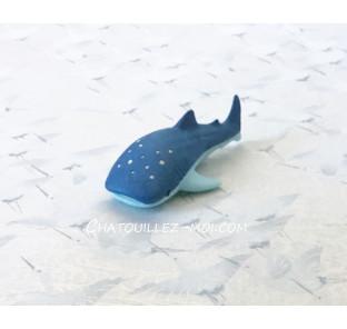 Gomme requin baleine bleu
