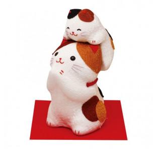 Maneki neko chat et son...