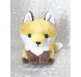 Peluche renard roux kawaii