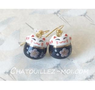 Boucles d'oreilles Maneki...