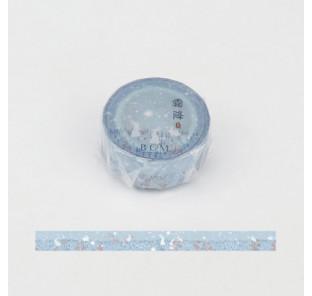 Washi tape lapin blanc