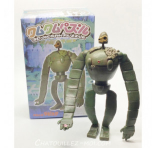 Puzzle 3D robot Laputa
