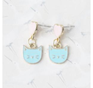 Boucles d'oreilles chat...
