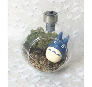 Terrarium Totoro bleu