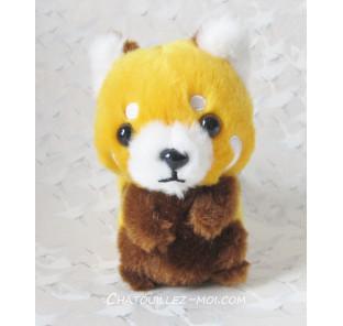 Peluche bébé panda roux