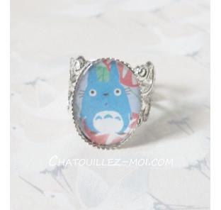 Bague Totoro bleu